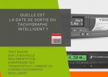 Smart chronotachygraphe : date de sortie le 15/06/2019